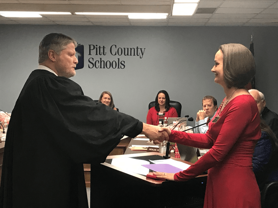 PEP Participants and Graduates on the Pitt County BOE – Parents for